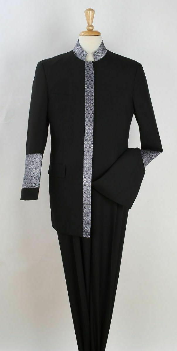 men s 2pc pastor church suit