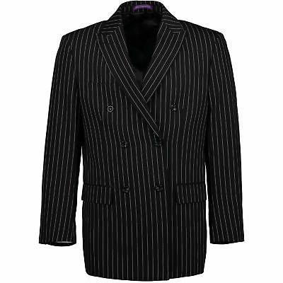 VINCI Black Classic Suit