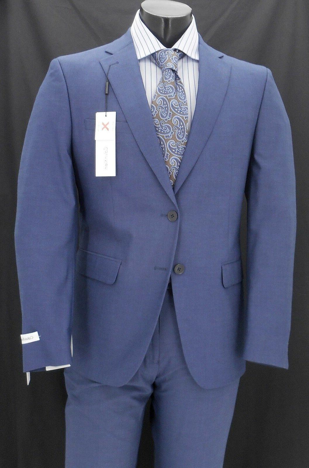 men s blue extreme slim fit suit