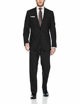 men s classic wool suit black mini