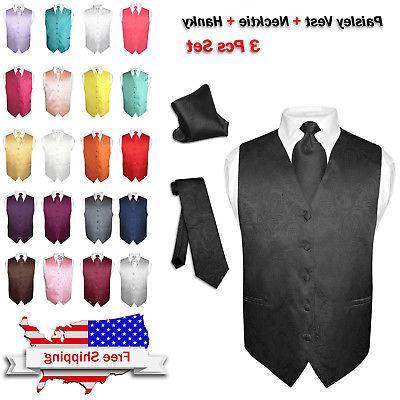 men s dress vest necktie for suit