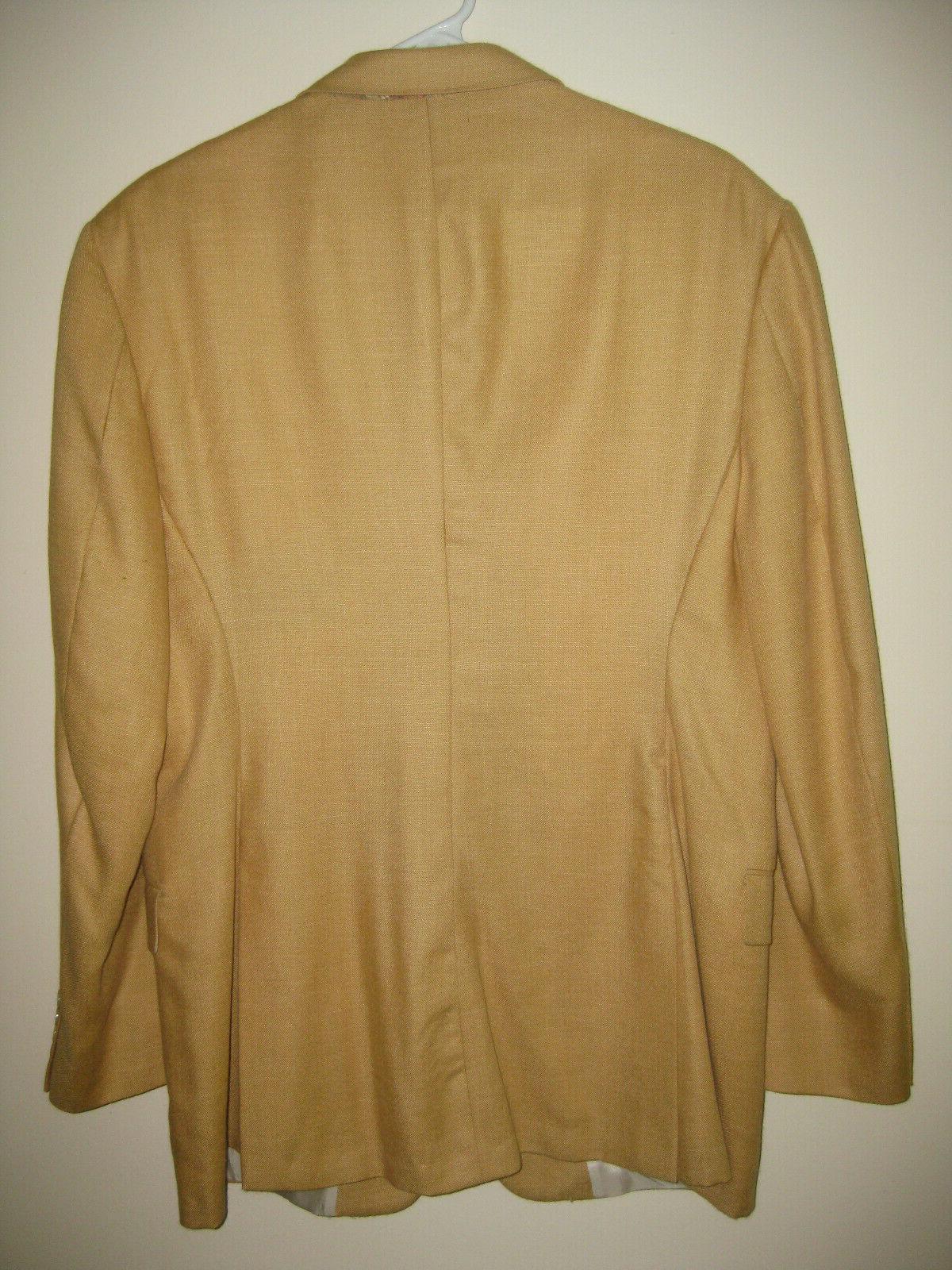 Men's BURBERRY London Camel Hair Jacket