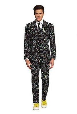 men s party suit size 38 disco