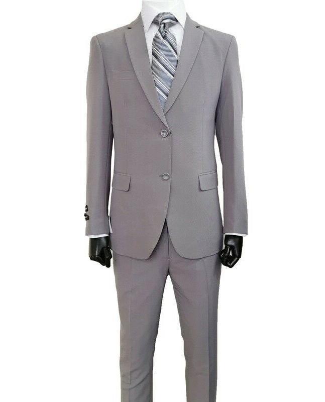 Men's Slim Business Wedding Party 2pc Set