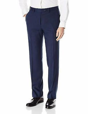 Perry Men's Slim Fit Suit with Pant, Blue,, 40