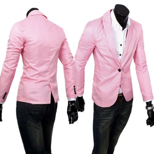 Men's Suit Coat Business Formal