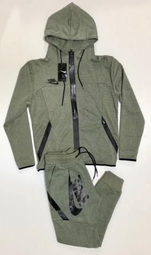 Nike Sweat Brand New Full Zip Hoodie Joggers Complete Set