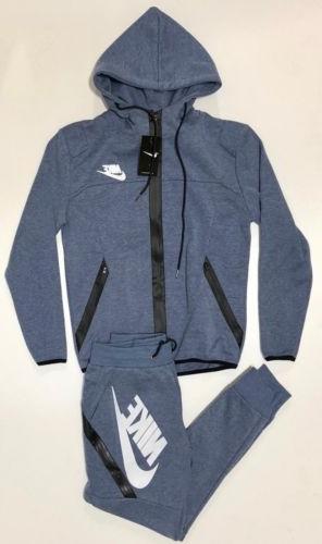 Nike Men's Brand Full Hoodie + Joggers Set