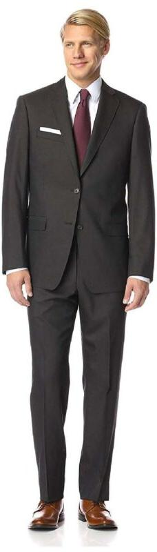 Franklin Tailored Men'S Textured Solid Tracy Suit