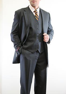 Men's 2 Pinstripe Formal Suits