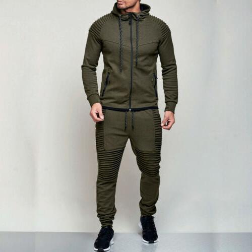 Men's Tracksuit Jogging Coat Jacket Pants Sports