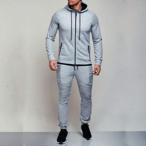 Men's Hoodie Coat Jacket Sports Suit Set