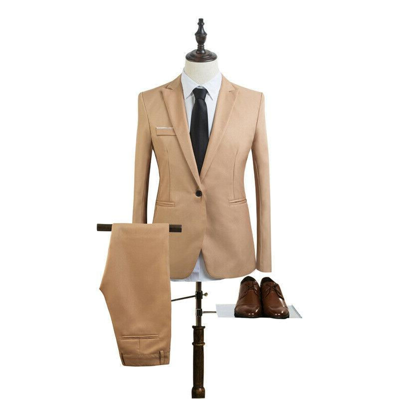 Men's Tuxedos + Pants Slim Fit Suit