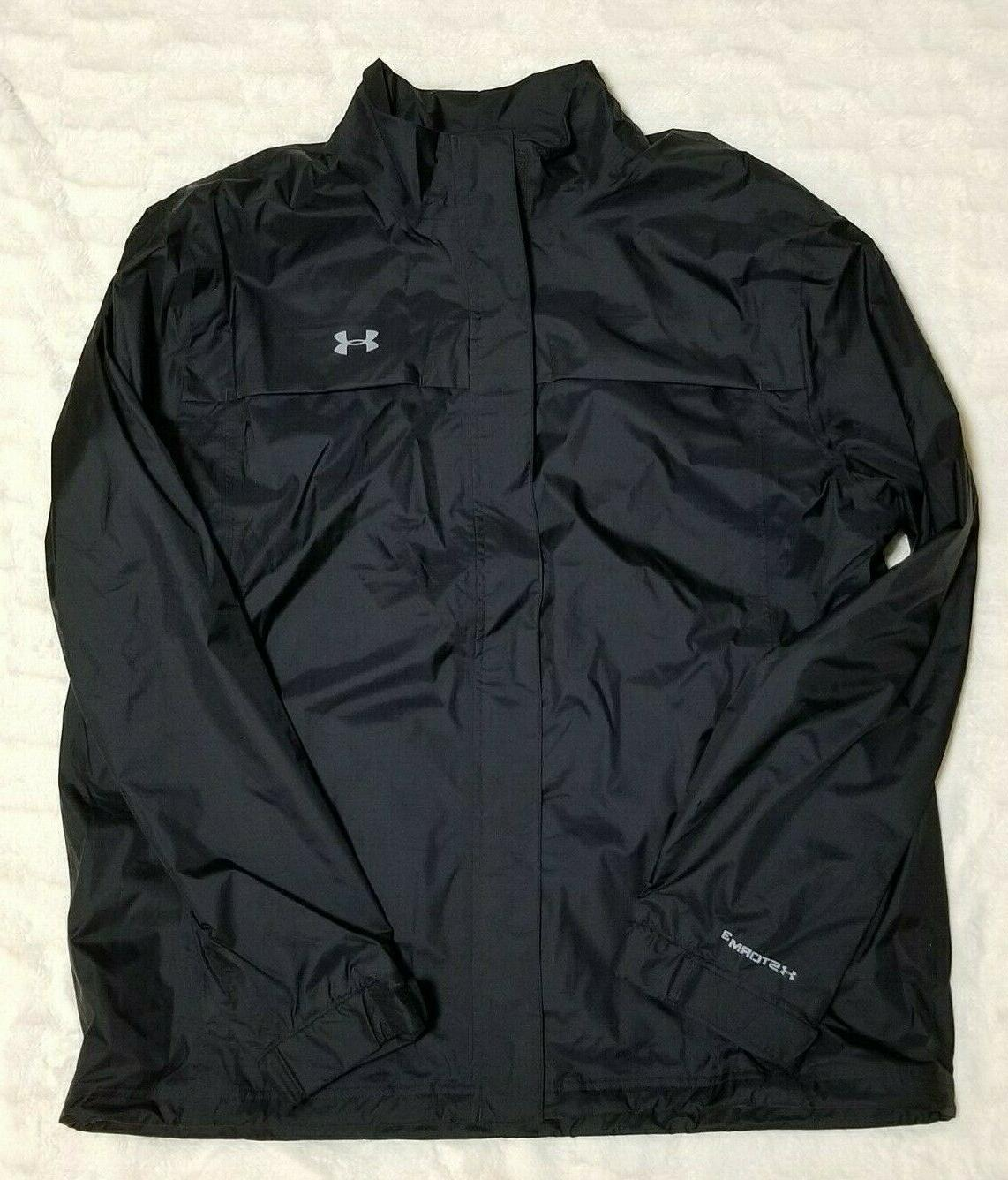 Under Storm3 Golf Rain Suit Black XXL With $169.99