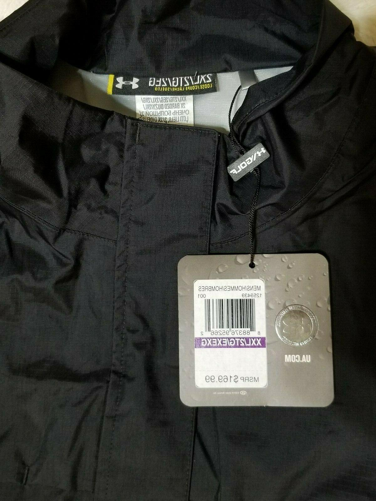 Under Storm3 Suit Black Size With Tags