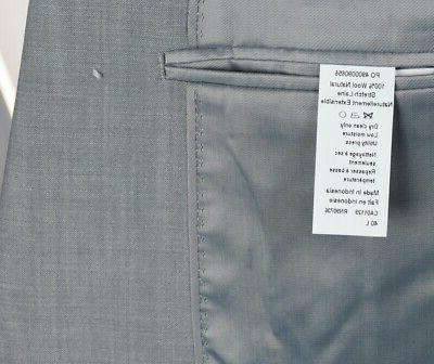 Calvin Men's Wool Light X Slim Suit