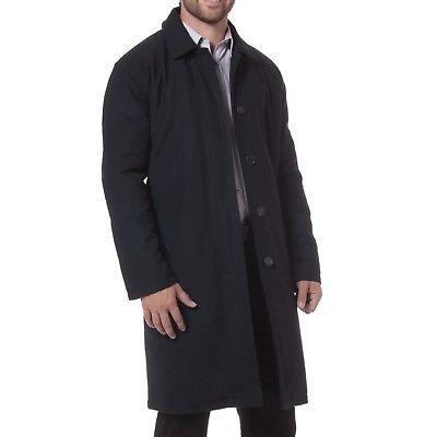 Alpine Zach Knee Length Coat Overcoat