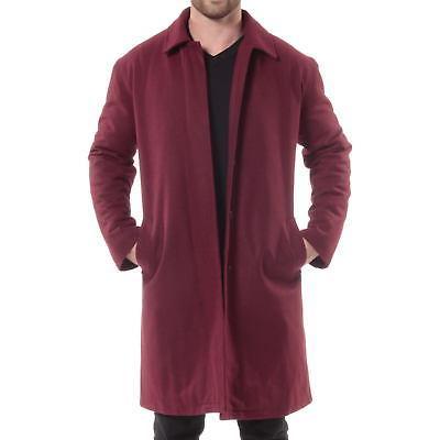 Alpine Swiss Knee Coat Trench Overcoat