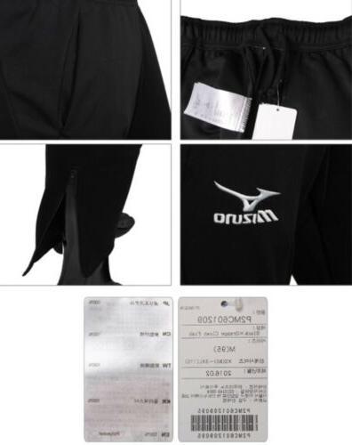 Mizuno Men Fit Knit Black Orange Jersey P2MC601209