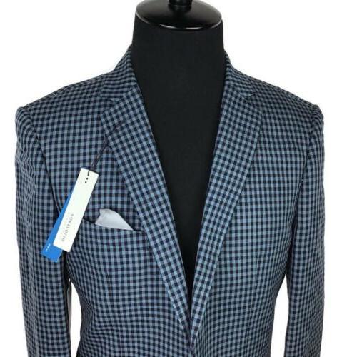 Perry Ellis Men Jacket Blue 40L NEW $250