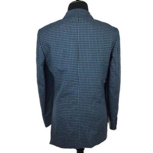 Perry Ellis Men Jacket Blazer Blue 40L $250