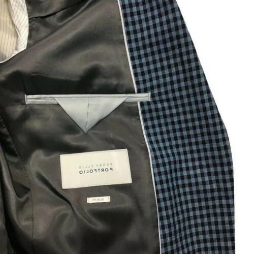 Perry Slim Fit Jacket Blazer 40L NEW