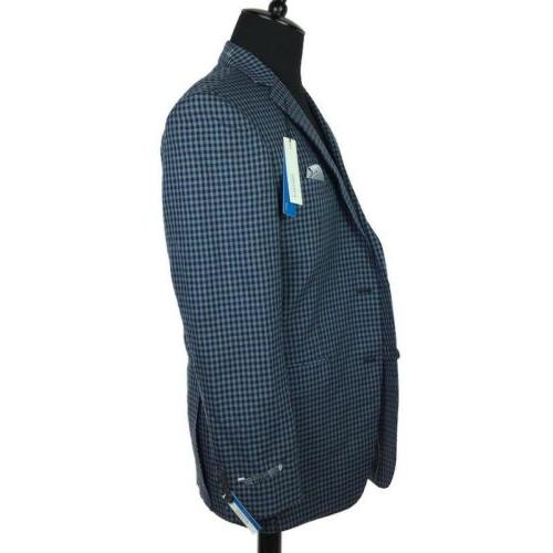 Perry Fit Stretch Jacket Navy Blue 40L NEW