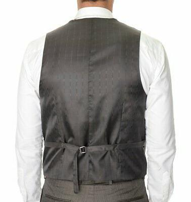 Mens Emigre Slim Two Button Three Suit