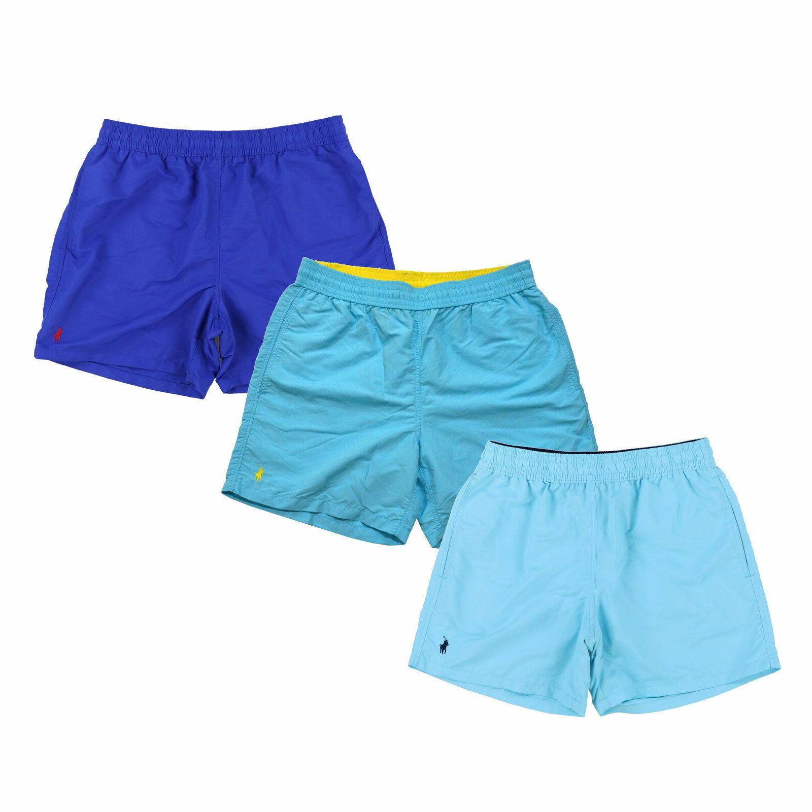 mens bathing suit bottoms lined swim trunks