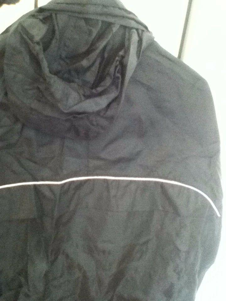 Mens Black Track Suit Pants and Zip with 2 Pockets Size