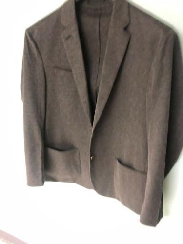 Mens Suit Jacket Grey Size