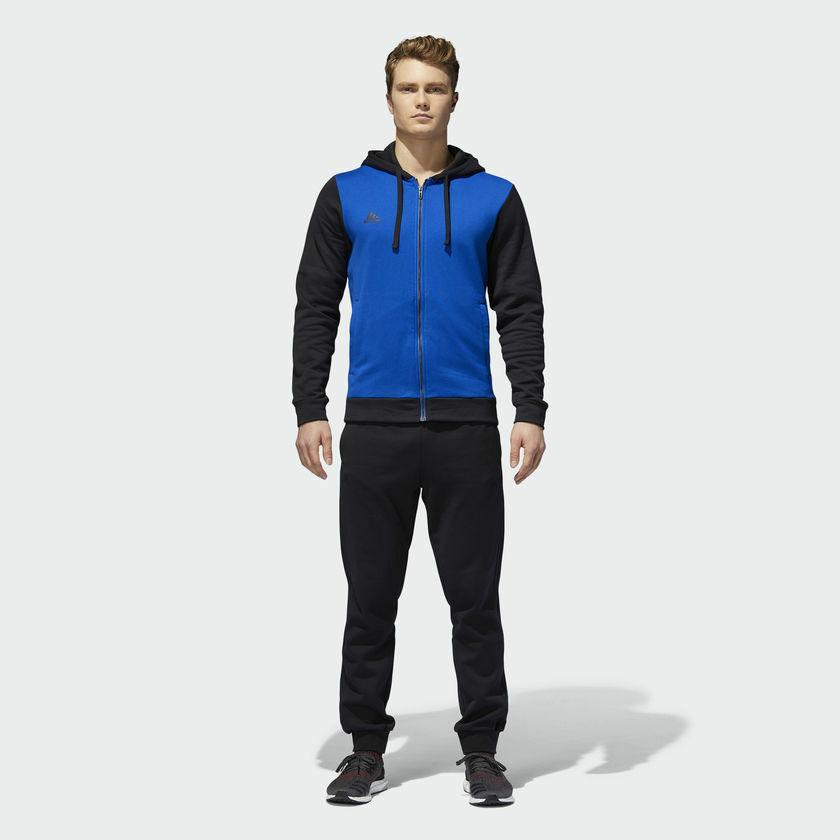 Adidas Mens Gym CO Energize Track Suit Hoody Sweat Jacket Pa