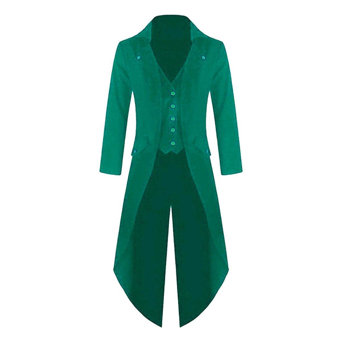 Mens Coat Tuxedo Banquet Tail Overcoat