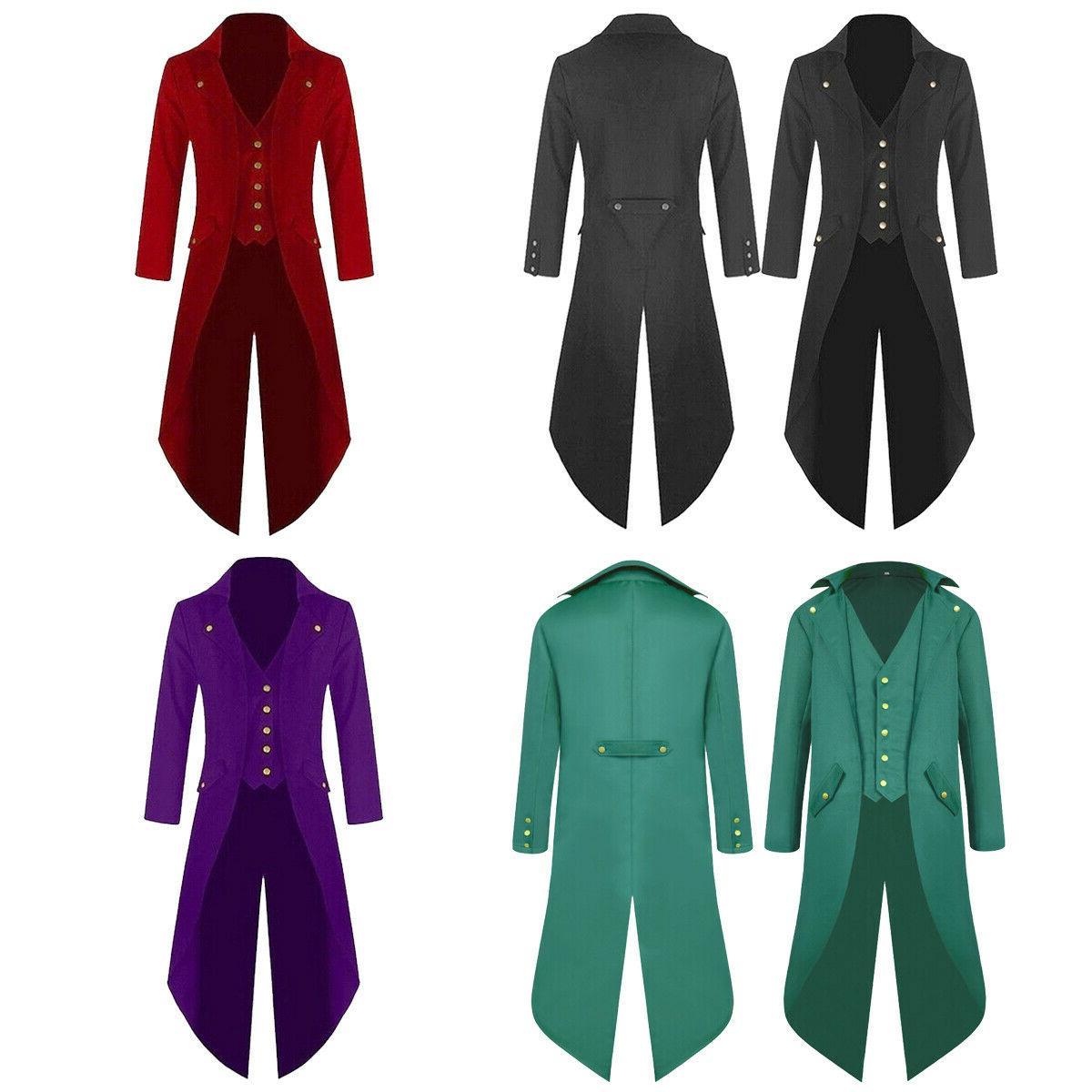 mens retro swallow tailed crop coat tuxedo