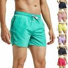 mens slim fit shorts quick dry swim