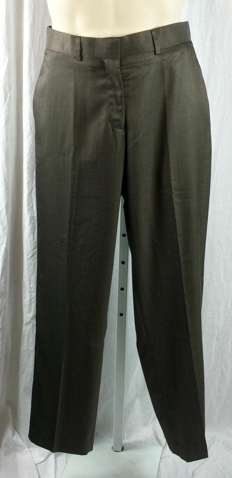 Mens Dockers Suit Pants Size Brown Blend NWT