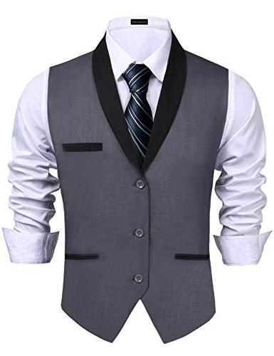 mens vests adult gangster suit vest premium