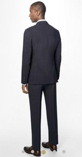 Brooks Brothers Milano Fit Sharkskin Suit Reda Stretch