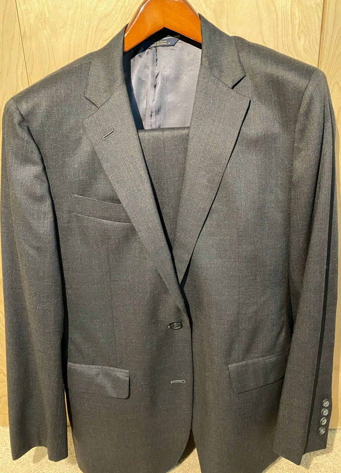 milano fit two button 1818 suit size
