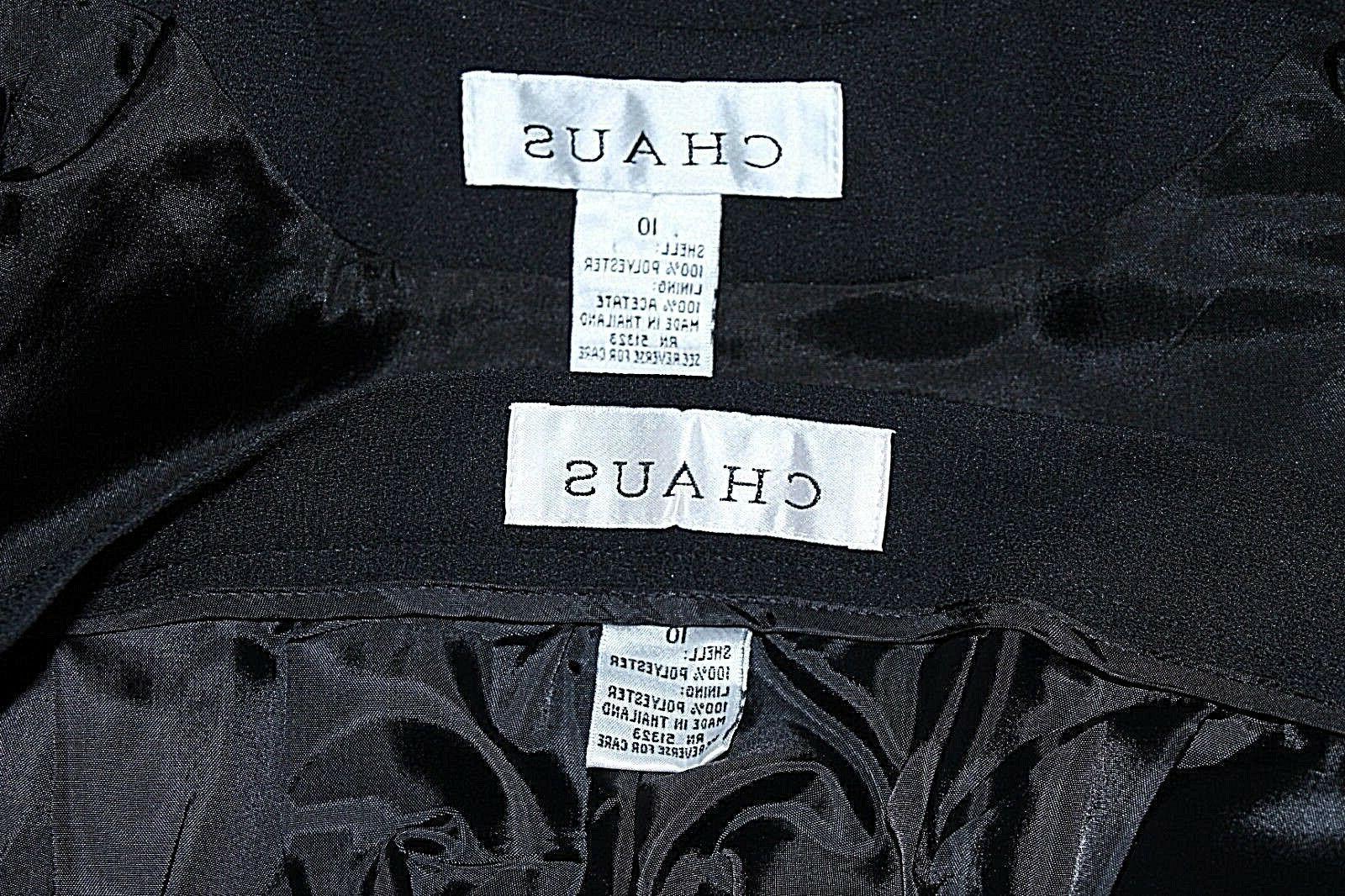 Chaus x 30 Polyester Acetate Pant H095
