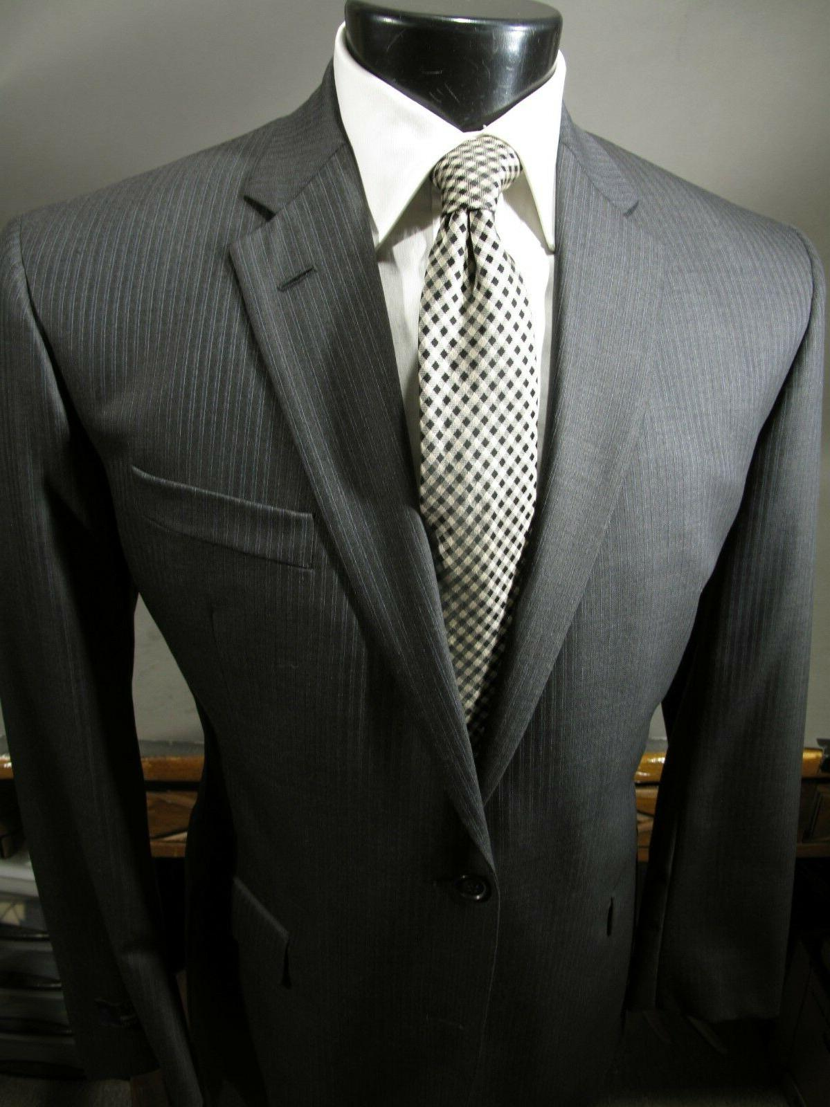 new 1300 milano suit 46 l charcoal