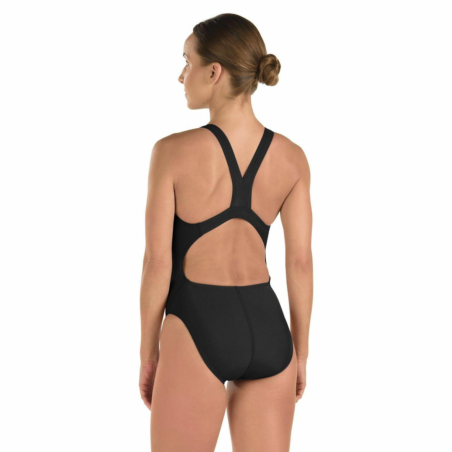 *New Pro Back Superpro Female Woman Solid BLACK *