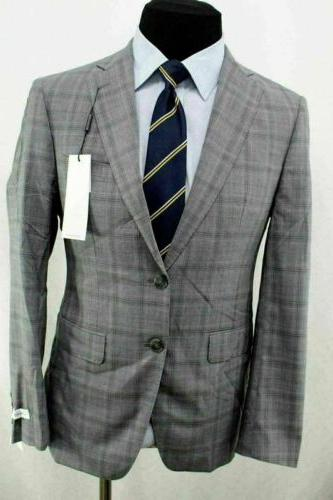 New Extreme Gray Vent Wool Suit AG9