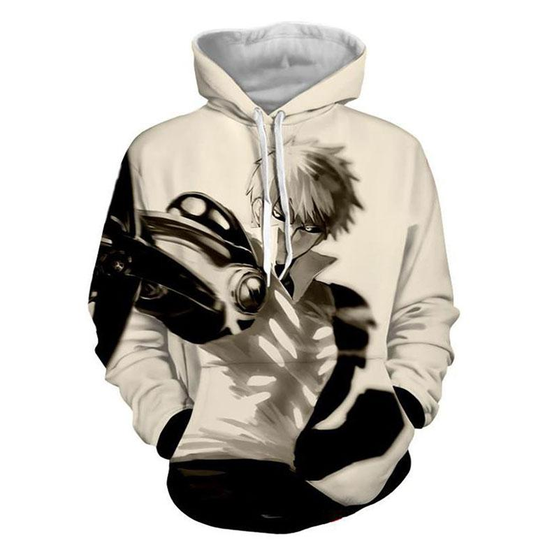 LIASOSO NEW Print cartoon Naruto <font><b>suit</b></font> men's hooded hooded sweatshirt Hat
