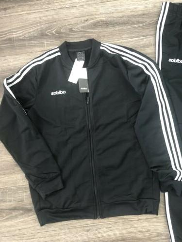 New Adidas Strip Track Suit Mens Jacket Combo Size
