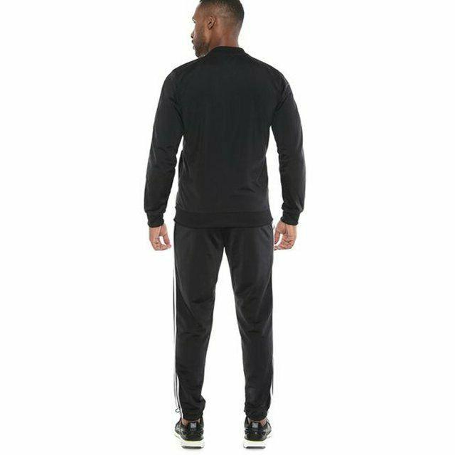 new adidas BACK BASICS TRACK black L Jacket