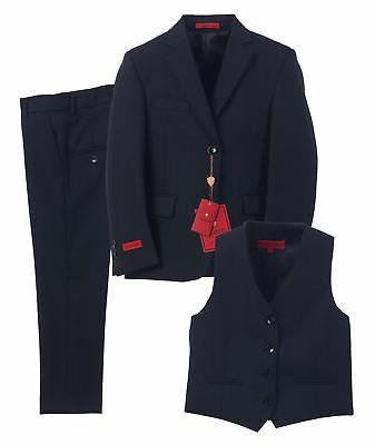 Gioberti NEW Blue Navy Boys Size 16 Three Piece Formal Suit