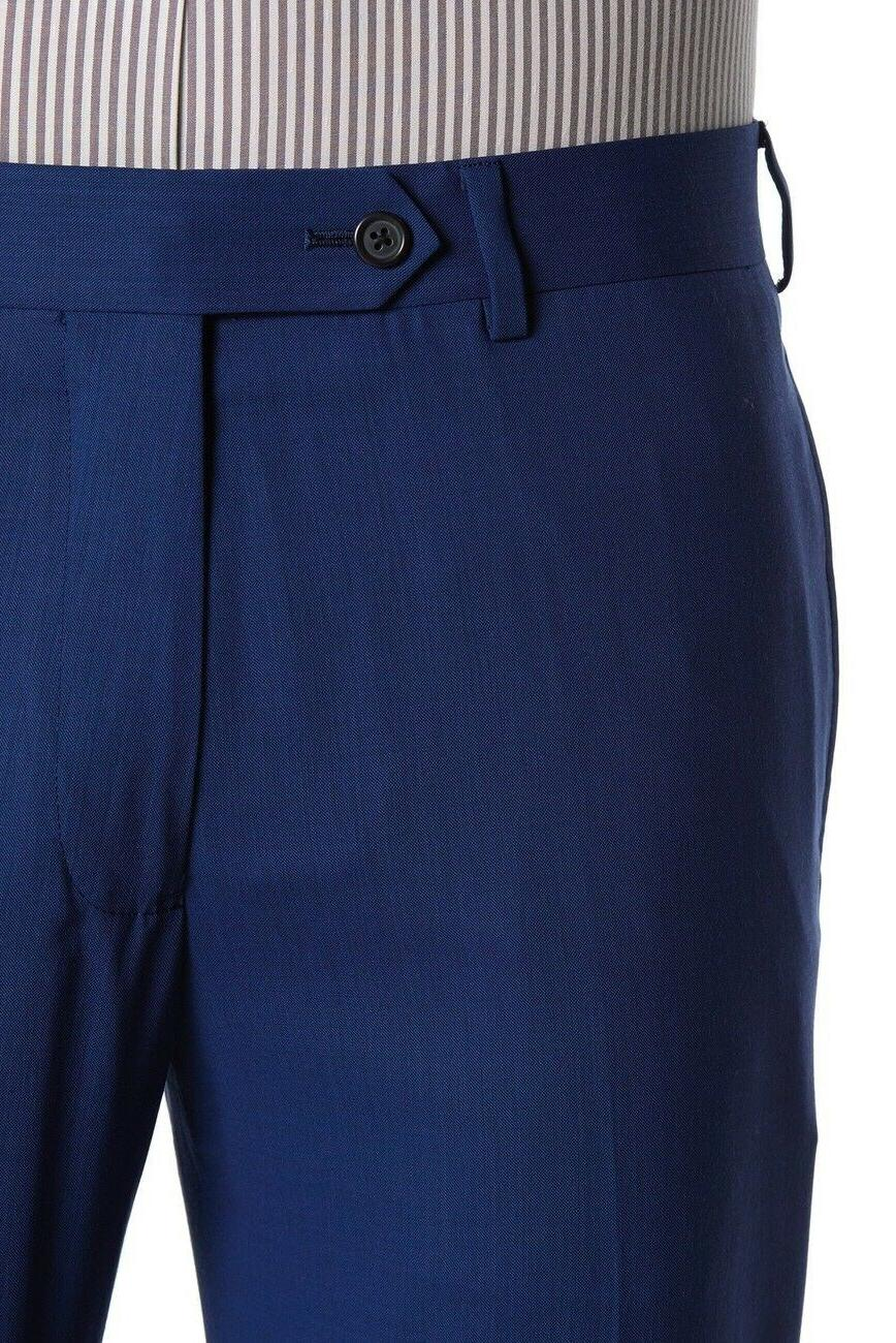 NEW Brooks 'Milano Fit' Solid Blue Two Suit