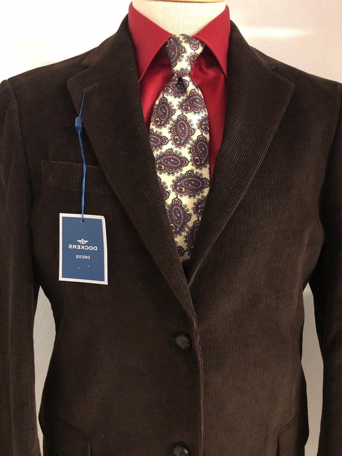DOCKERS *NEW* 40R Suit Coat 300052