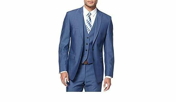 new extreme slim fit blazer 40r blue